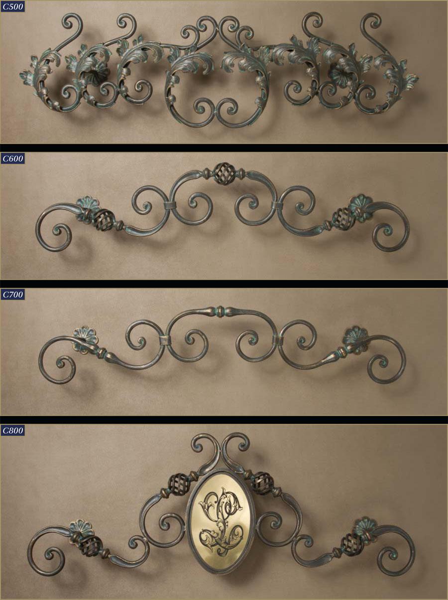 Wrought Iron Cornice : Fine wrought iron cornices window cornice gaby s shoppe