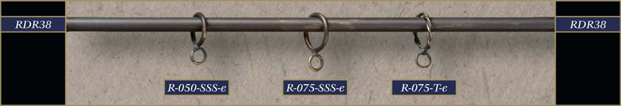 Wrought Iron Rods and Rings